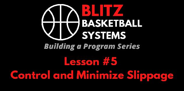 Building a Program Series: Control and Minimize Slippage