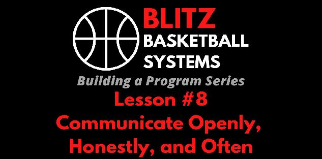 Building a Program Series: Communicating With Parents and Players - Openly, Honestly, and Often