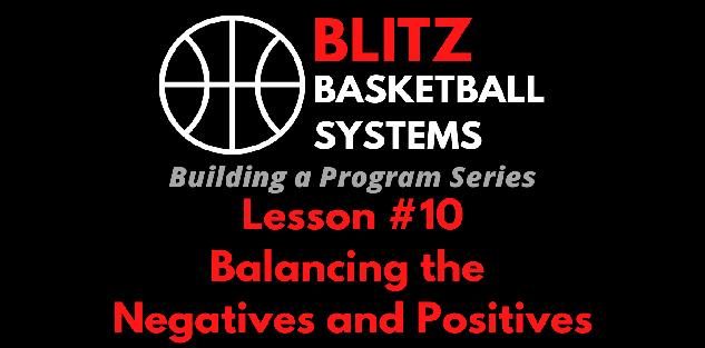 Building a Program Series: Balancing the Negatives with the Positives