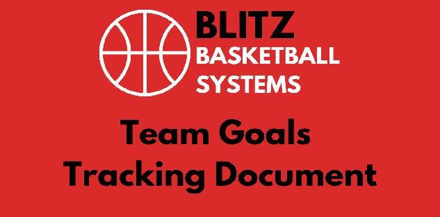 How Do I Track Team Goals? Season-Long Team Goal Tracking System (with downloadable PDF)