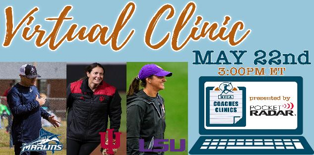 NFCA Virtual Coaches Clinic Featuring Brandon Elliott, Shonda Stanton, and Beth Torina