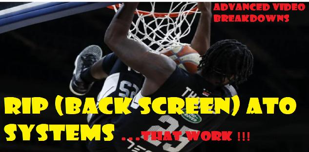 BACK SCREEN (RIP) ATO Plays that work (SURPRISE sets After-Time-Out)