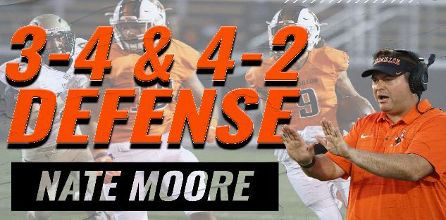 Nate Moore: 3-4 and 4-2 Defense