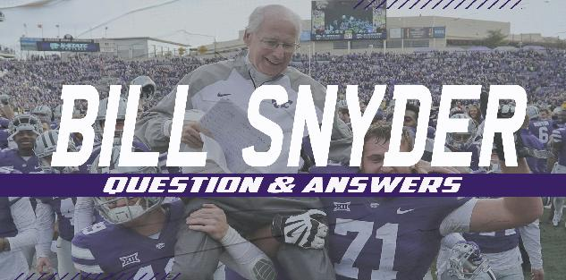 Q&A with Bill Snyder
