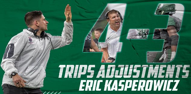 4-3 Defense and Trips Adjustments: Eric Kasperowicz