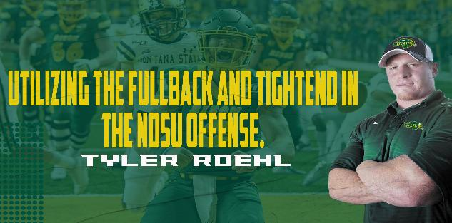 Utilizing the Fullback and TE in the NDSU Offense.