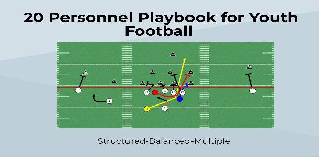 20 Personnel Playbook for Youth Football | Spread Offense