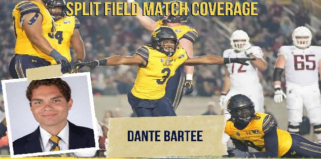 Split Field Man Match Quarters Defense: Dante Bartee