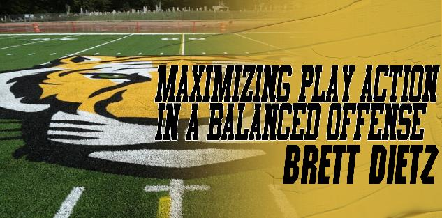 Maximizing Play Action in a Balanced Offense: Brett Dietz