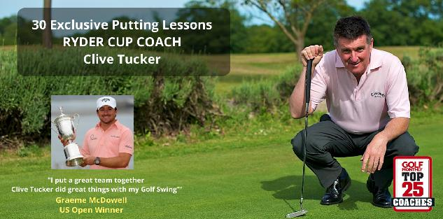 30 Exclusive Putting Lessons with Ryder Cup Coach Clive Tucker