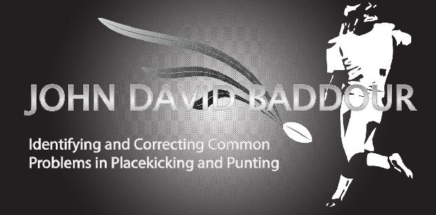 Identifying and Correcting Common Problems in Placekicking and Punting