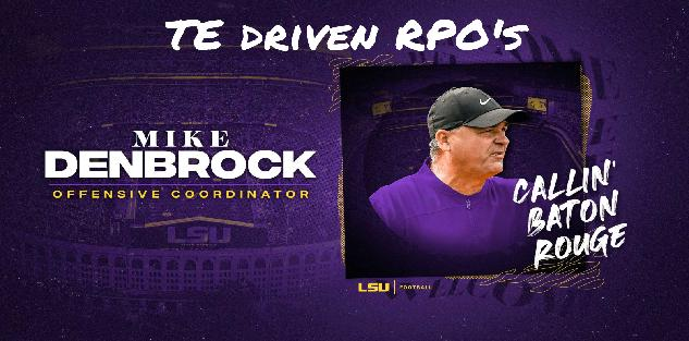 TE Driven RPO`s- Mike Denbrock