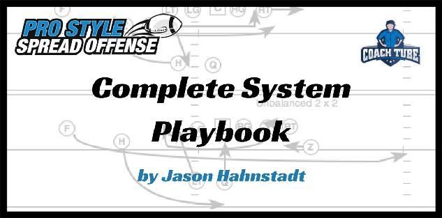 Pro Spread Offense System Playbook and Basic Install