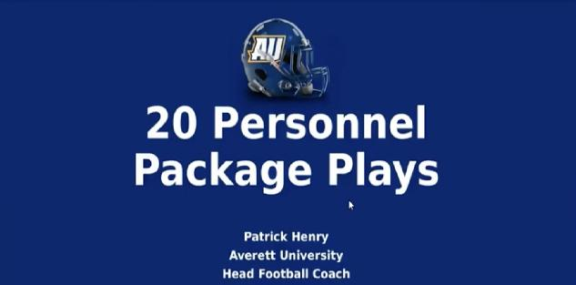 20 Personal Package Plays- Patrick Henry