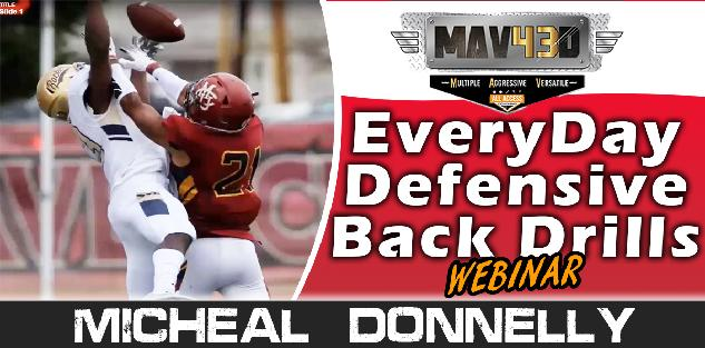 Everyday Defensive Back Drills - Michael Donnelly