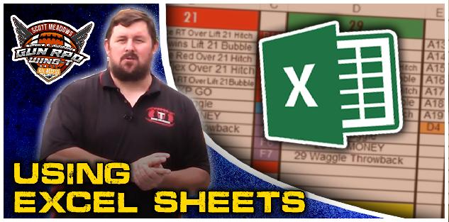 Using Excel Sheet - Lee White Webinar
