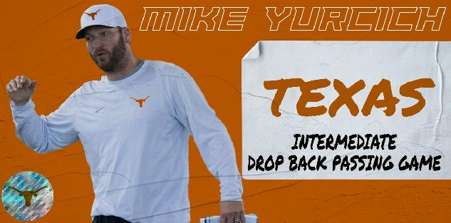 Mike Yurcich Intermediate Drop Back Passing Game
