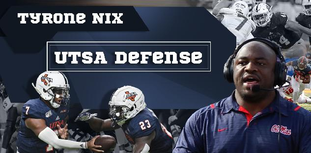 UTSA Defense | Tyrone Nix