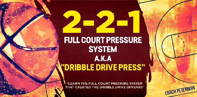 2-2-1 Full Court Pressure System a.k.a.