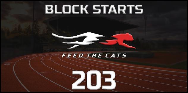 Feed the Cats: Getting to MAX Velocity Out of the Blocks