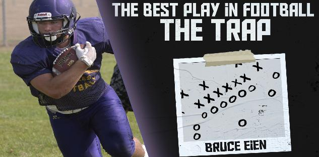 The Best Play in Football! The Trap- Bruce Eien