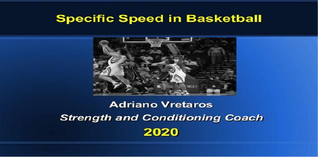 Specific Speed in Basketball 🏀