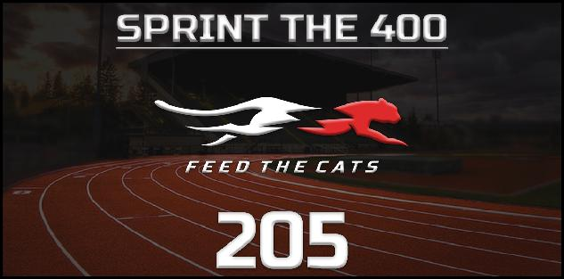 Feed the Cats: Sprint the 400