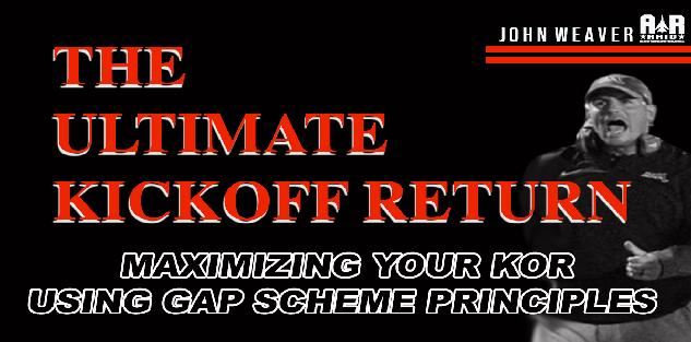 Maximizing Kickoff Returns with Gap Scheme Principles