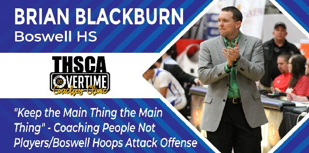 Coaching People Not Players/Boswell Hoops Attack Offense - Brian Blackburn