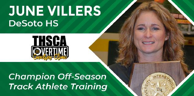 Champion Off-Season Training - June Villers, DeSoto HS