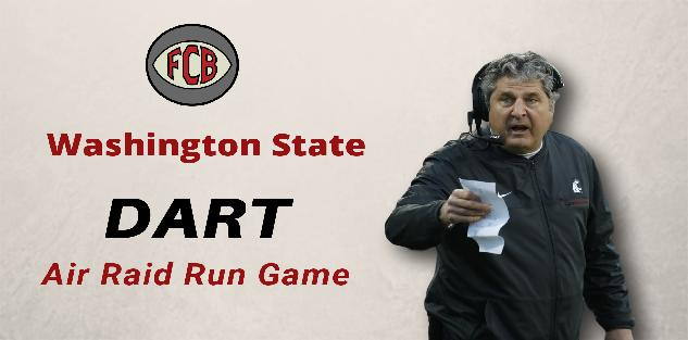 Air Raid Run Game: Washington State Dart Concept