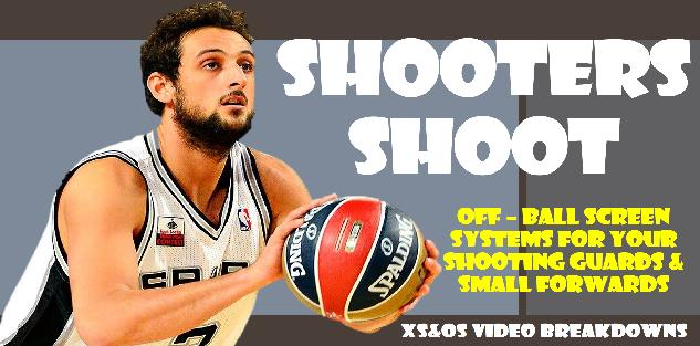 SHOOTERS SHOOT: OFF-BALL Screen Systems (International Basketball)