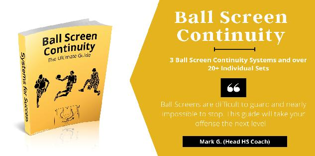 Ultimate Ball Screen Continuity - Playbook