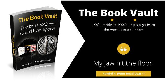 The Book Vault - A Learning Leader`s Library
