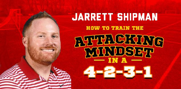 How to Train the Attacking Mindset in a 4-2-3-1