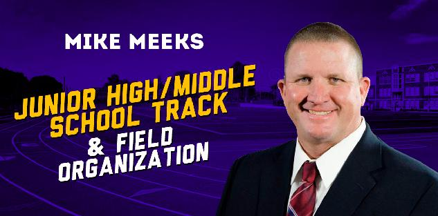 Junior High/Middle School Track & Field Organization