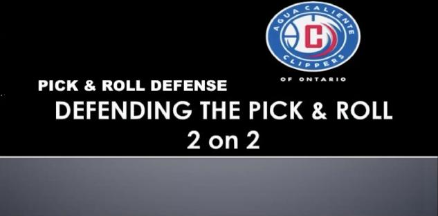 Pick and Roll Defense- Brian Adams