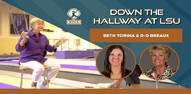 Down the Hallway with LSU`s Beth Torina and D-D Breaux