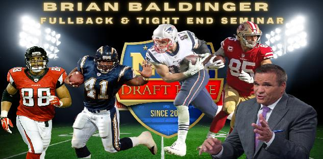 Baldy`s Breakdown: Tight End and Fullback Seminar