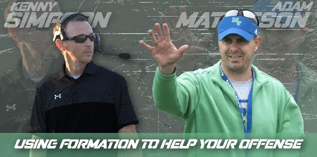 Formations to Help Your Offense - Coach Simpson and Coach Mathieson