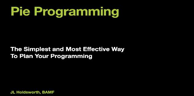 Pie Programming-J.L. Holdsworth