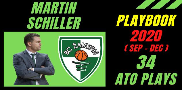 34 ATO plays by MARTIN SCHILLER in Zalgiris Kaunas (2020 Sep-Dec)
