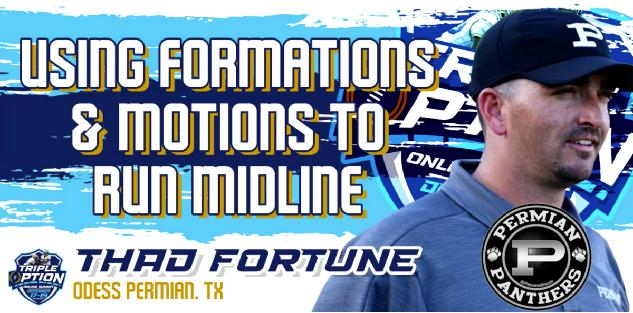 Using Formations & Motions To Run Midline
