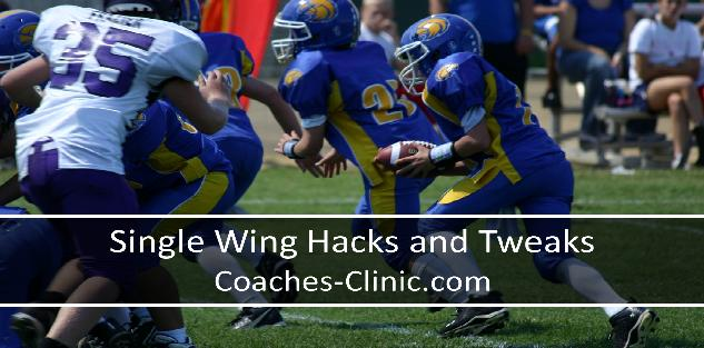 Single Wing Hacks and Tweaks