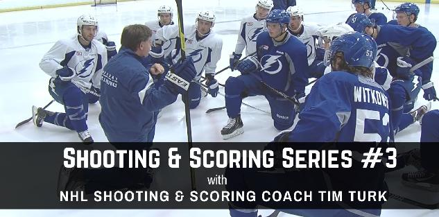 Shooting & Scoring Series #3 with NHL Shooting Coach Tim Turk