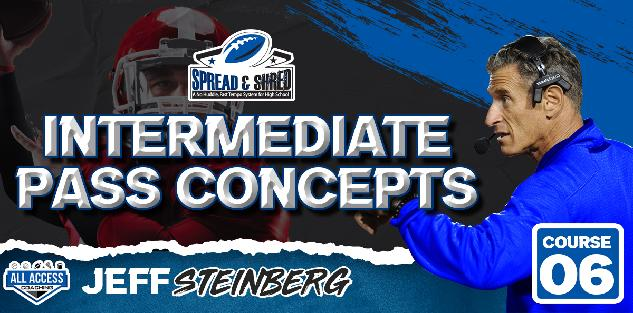 Spread and Shred: Intermediate and Deep Passing Game