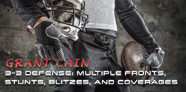 3-3 Defense: Multiple Fronts, Stunts, Blitzes, and Coverages