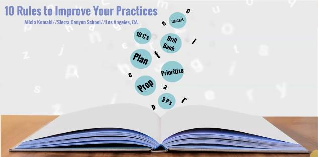 10 Rules to Improve Your Practices