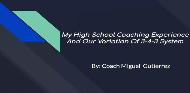 3-4-3 Formation: Why it Works for High School Teams