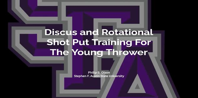 Discus and Rotational Shot Put Training for the Young Thrower